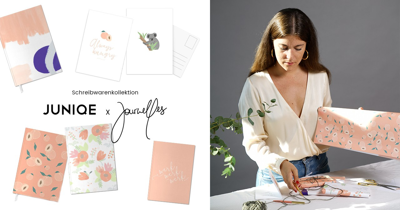 daniela roessler Journelles Stationery Collection Design